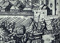 La bataille de Mühlberg (détail)