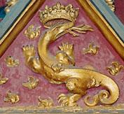 La salamandre, embl�me de Fran�ois Ier